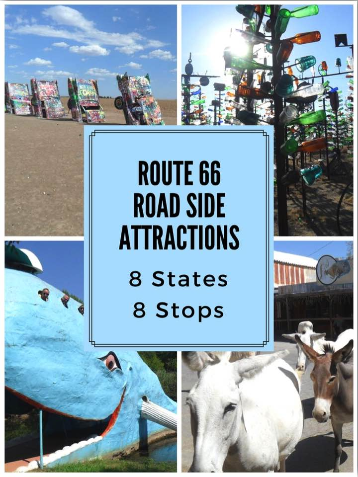 Route 66 Road Side Attractions