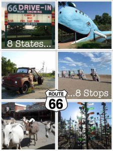 8 Route 66 roadside attractions