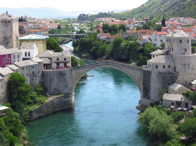 Old Bridge Mostar Bosnia