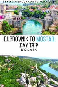 Dubrovnik to Moster Day Trip