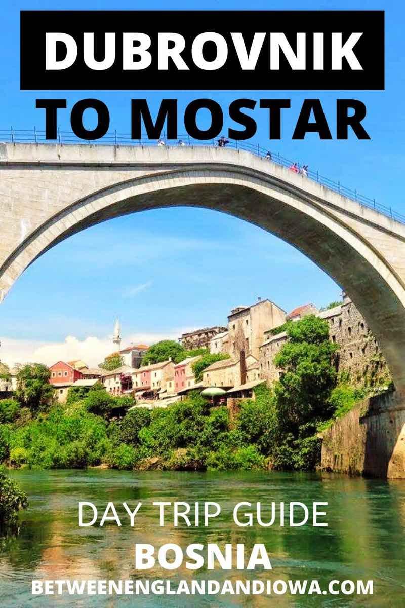 Dubrovnik to Mostar Day Trip