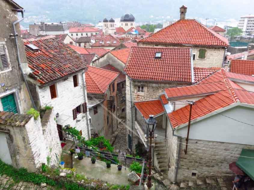 Entrance to Kotor's City Walls