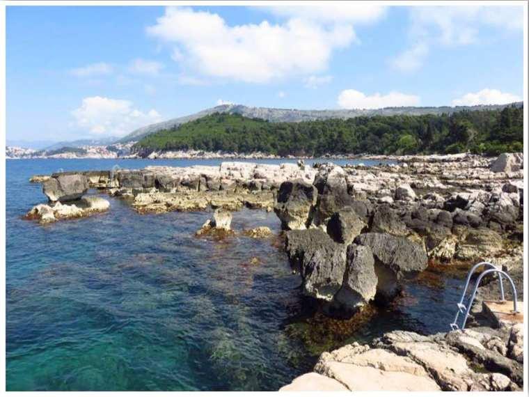 Lokrum Beach Dubroknik Croatia