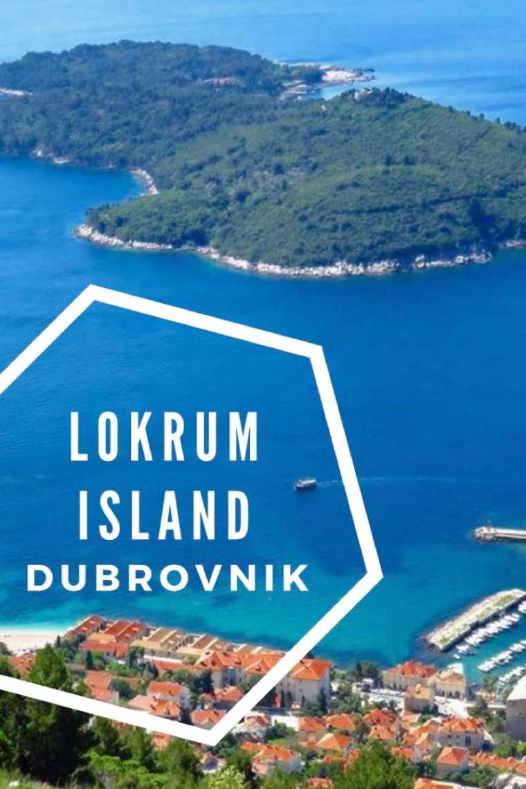 Tips for visiting Lokrum Island Dubrovnik. Just a 10 minute ferry from Dubrovnik Old Town to Lokrum Island Nature Reserve