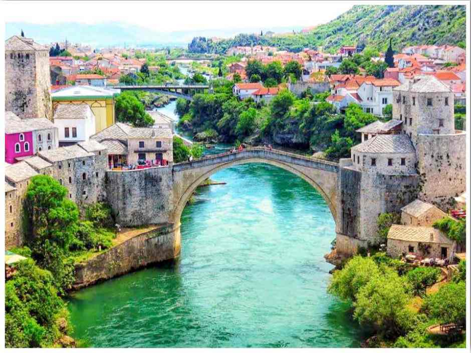 Mostar Bosnia Stari Most Bridge