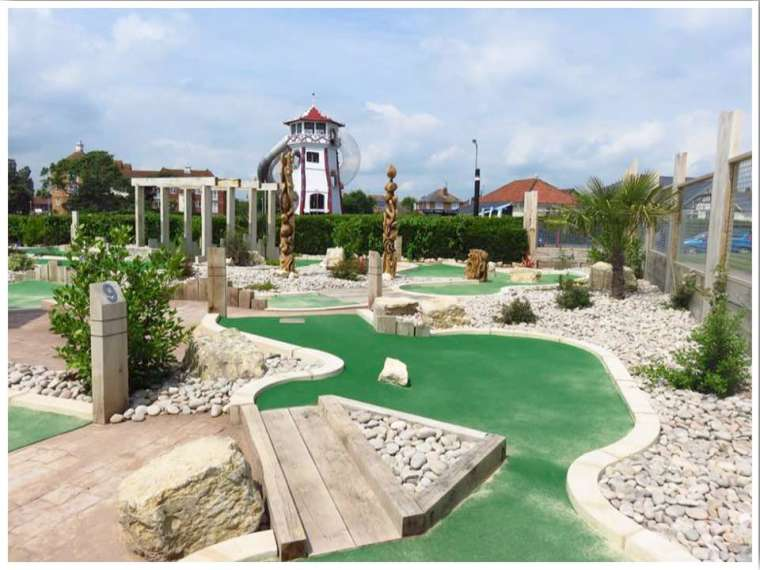 British Seaside Crazy Golf