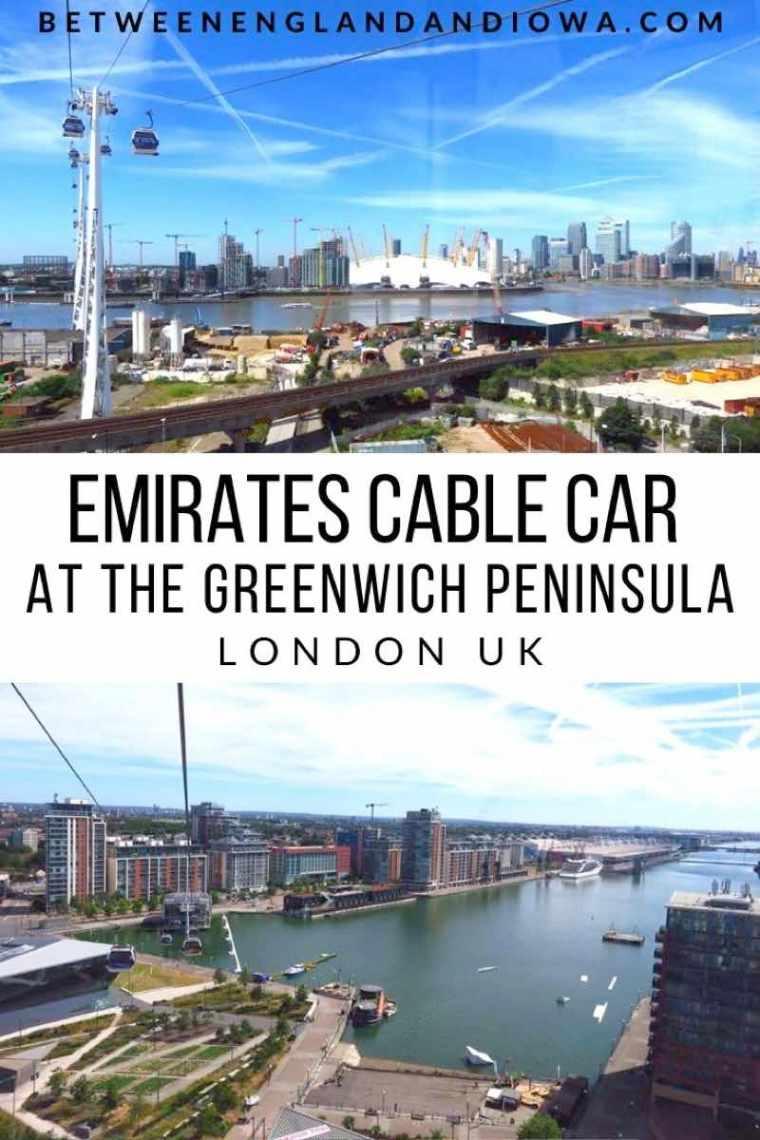 Cable Car At O2 London