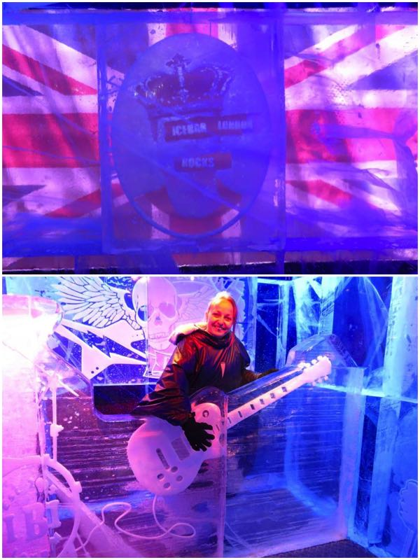 Icebar London Rock