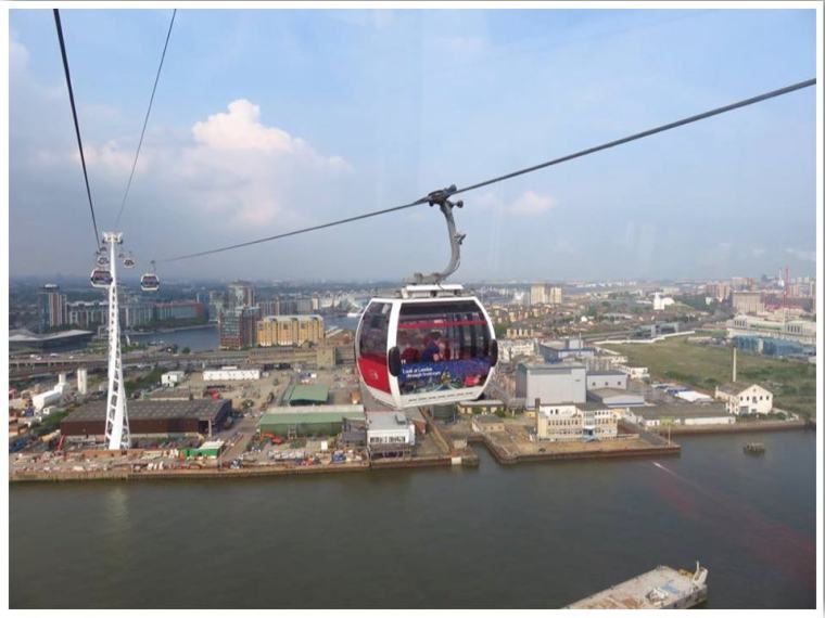 London Cable Car Emirates Air Line