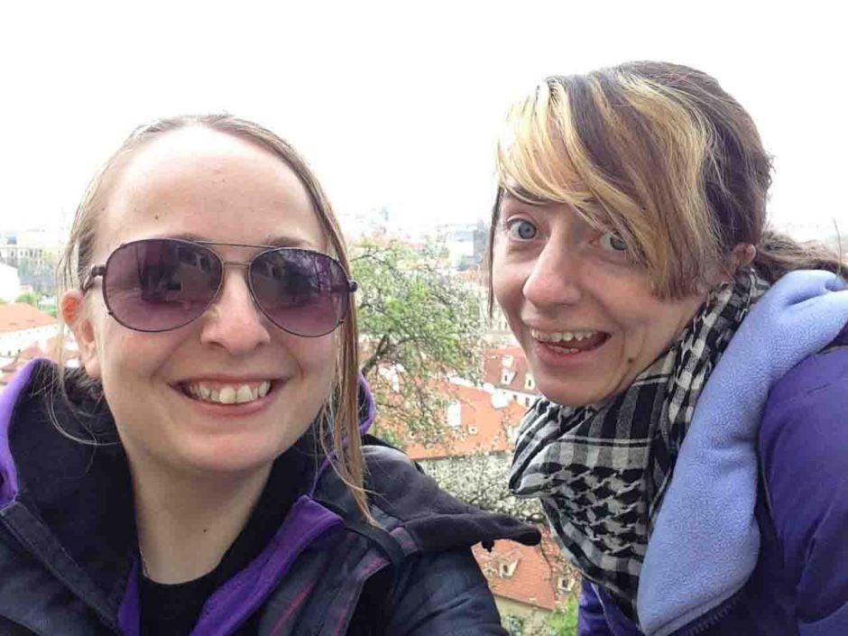 Me & Sis in Prague