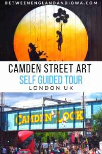 Camden Street Art Self Guided Tour