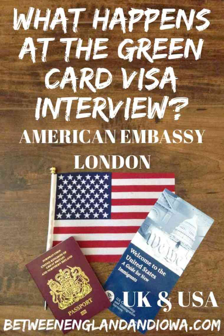 What Happens in the Visa Interview at the American Embassy, London