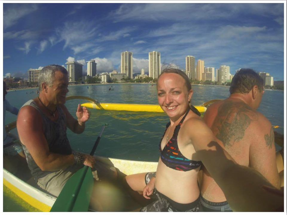 Outrigger Canoe Boat Trip