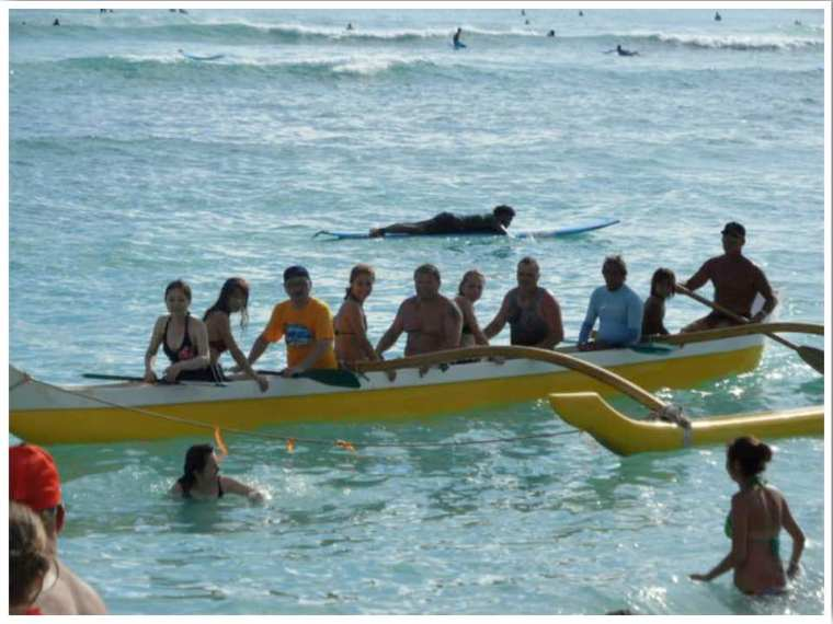 Outrigger Canoe Hawaii