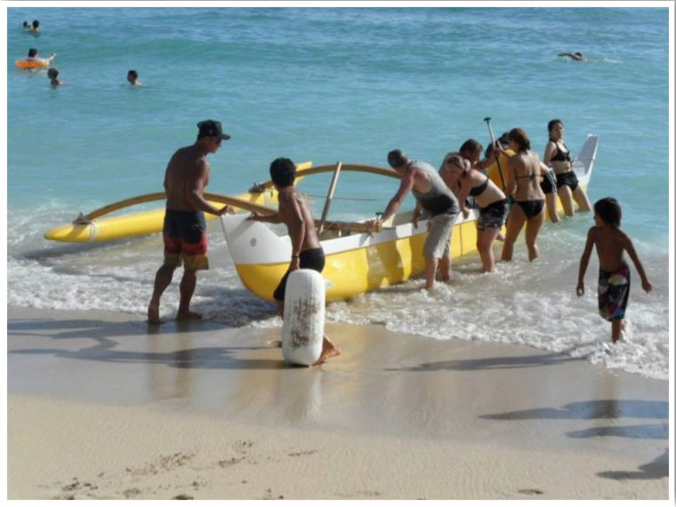 Outrigger Canoe Oahu