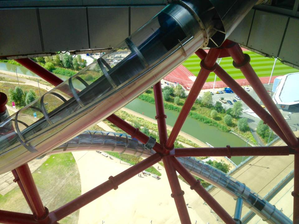 Arcelormittal Orbit Tube Slide London