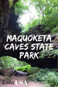 Tips for visiting Maquoketa Caves State Park in East Iowa!