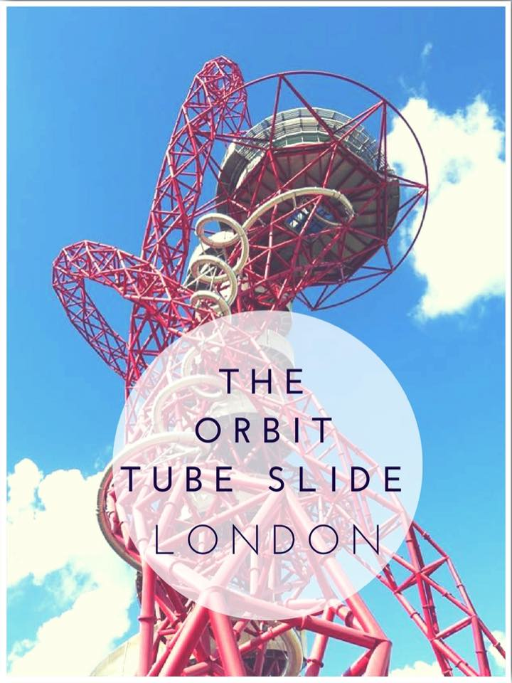 Riding the Arcelormittal Orbit Tube Slide London. The longest tube slide in the world!