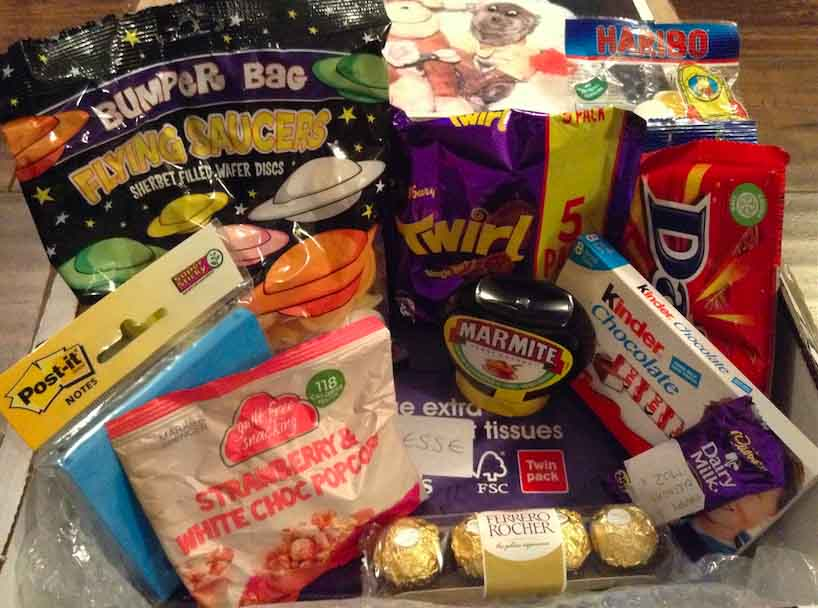 British Food from home