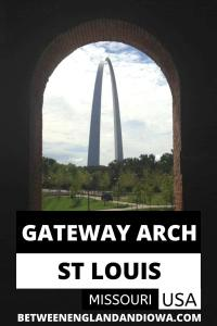 Gateway Arch National Park St Louis