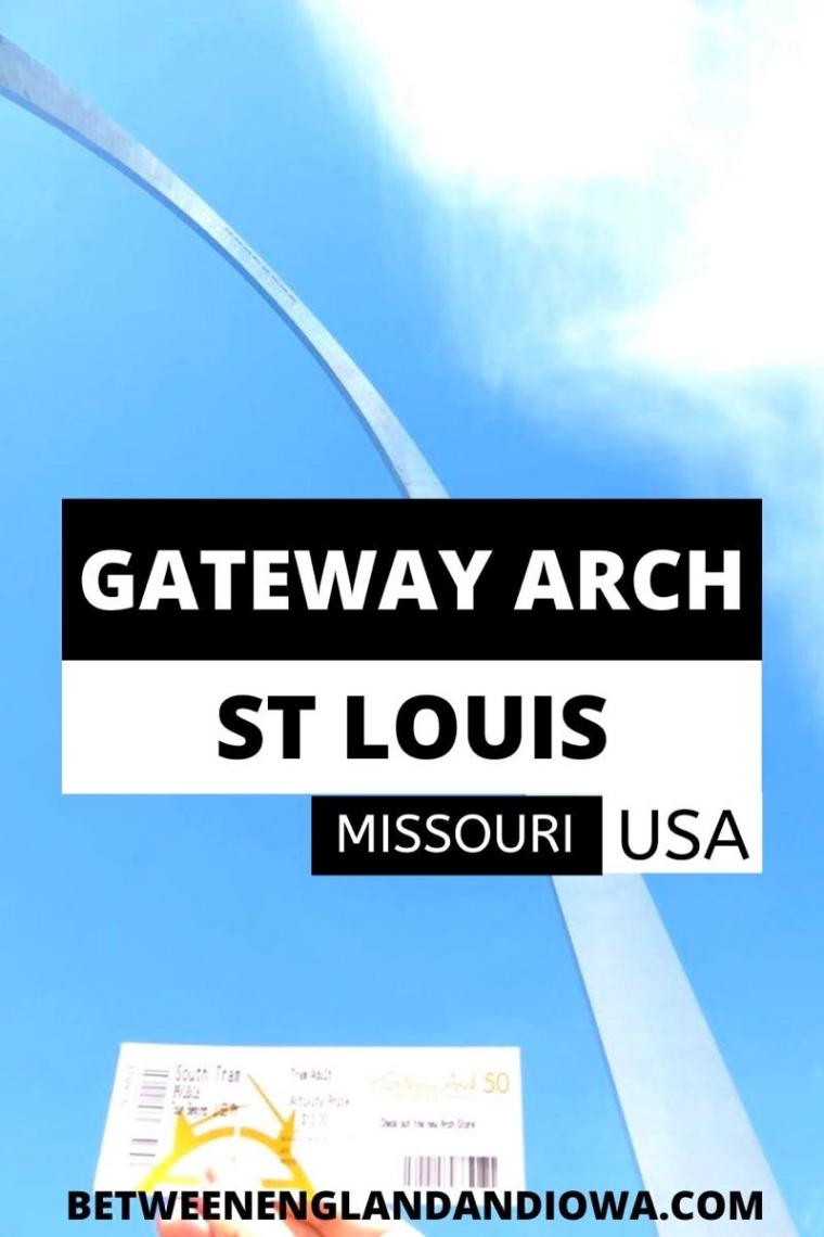 Gateway Arch National Park in St Louis Missouri USA