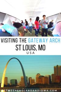 Gateway Arch Tips: Top of the Arch St Louis MO