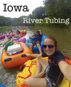 River Tubing in Cascade, Iowa