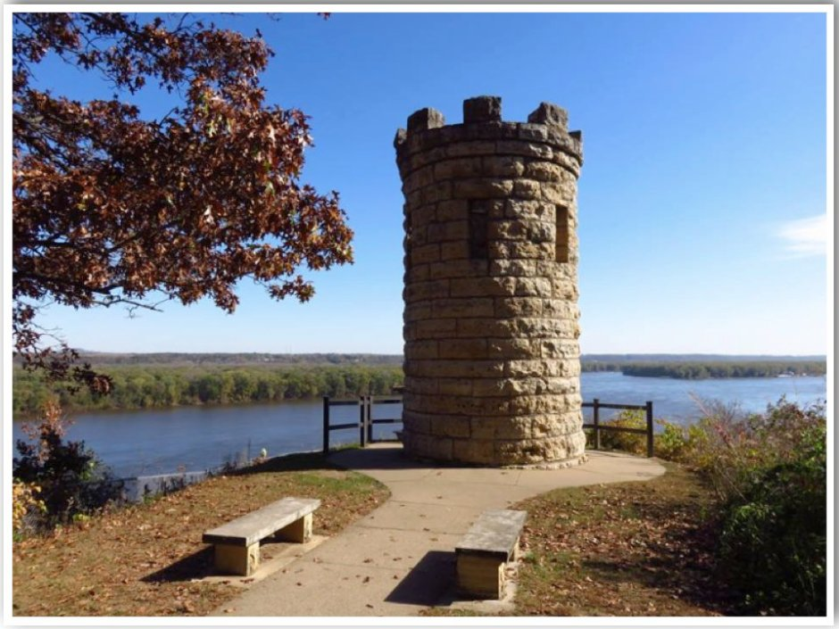 Julien Dubuque Memorial Tower