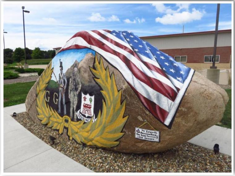 Dubuque County Freedom Rock