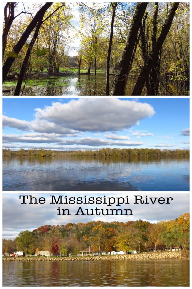 Mississippi River in Autumn