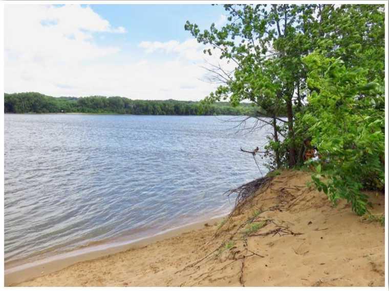 Mississippi River Beaches Iowa