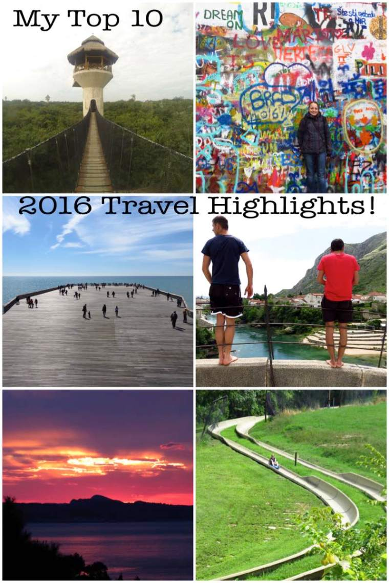 2016 Travel Highlights