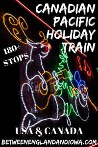 Rocking out to the Canadian Pacific Holiday Train. This Christmas train has 180 stops across the USA and Canada!