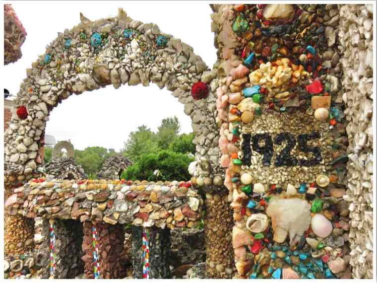Dickeyville Grotto Wisconsin built in 1925