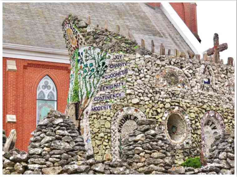 Dickeyville Grotto Wisconsin Main Shrine