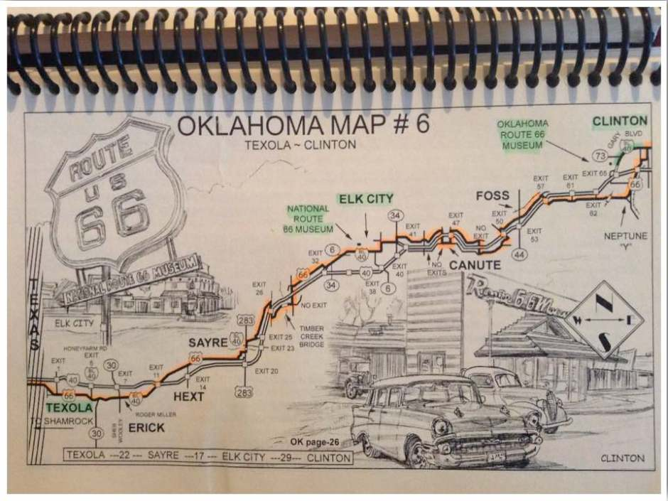 EZ66 Route 66 Guide Book