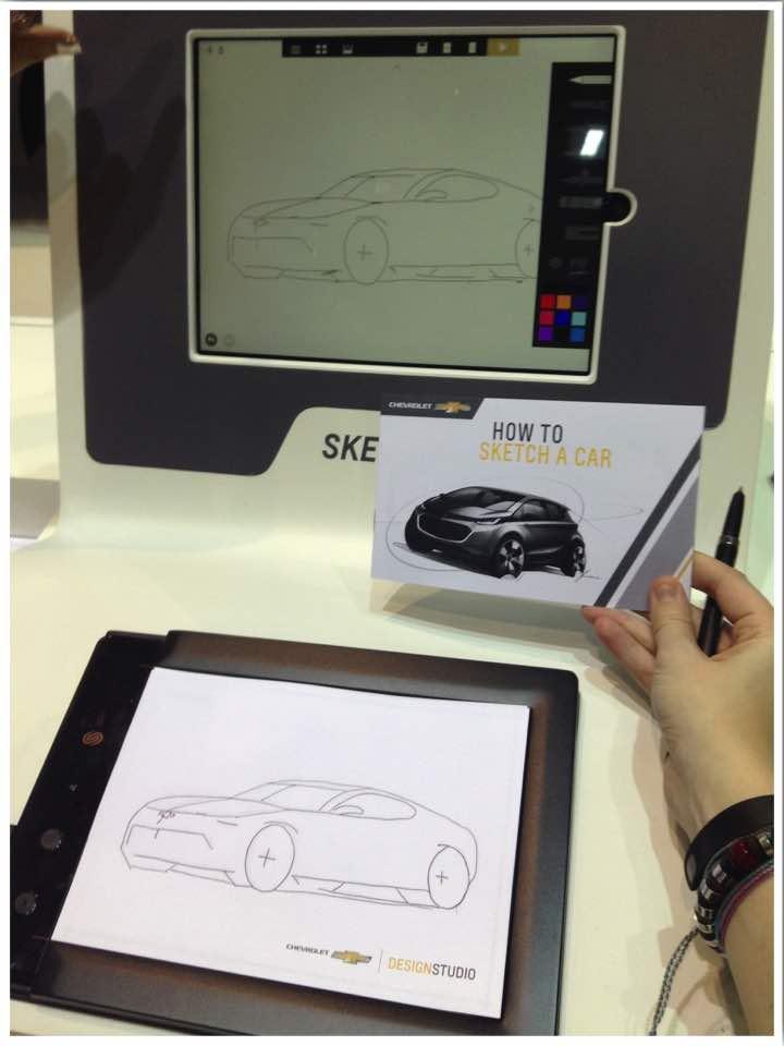 How to Draw a Car Chicago Auto Show 2017