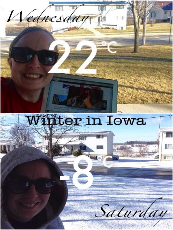 Winter in Iowa