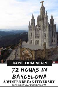 72 Hours in Barcelona. 3 days in Barcelona Spain. Things to do in Barcelona and tips for visiting Barcelona in December!