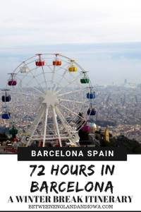 72 Hours in Barcelona Spain. 3 Day winter break in Barcelona. Things to do in Barcelona, the best view points and a guide to Barcelona in December!