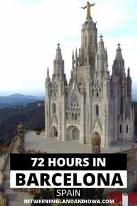 72 Hours in Barcelona Spain 3 day Itinerary