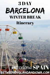 3 Day Barcelona Itinerary. Things to do in Barcelona in December for the perfect Barcelona winter break itinerary! Spain travel inspiration