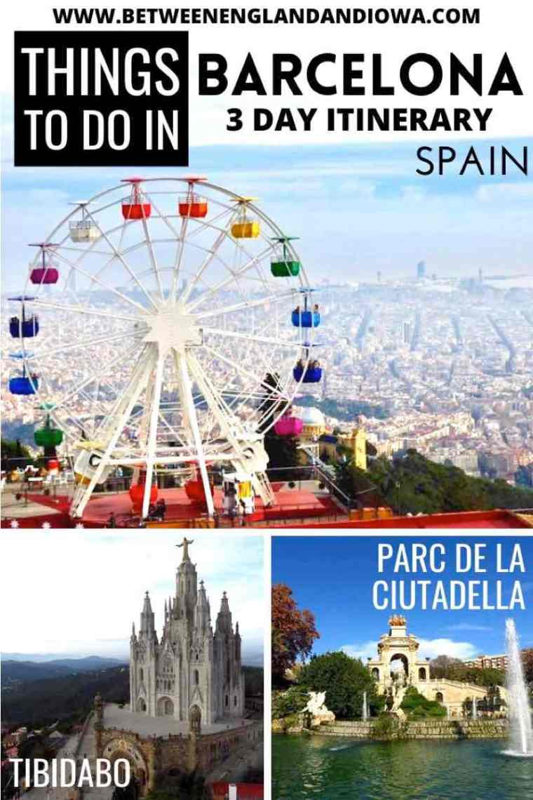 Things to do in Barcelona Spain: 72 hours in Barcelona
