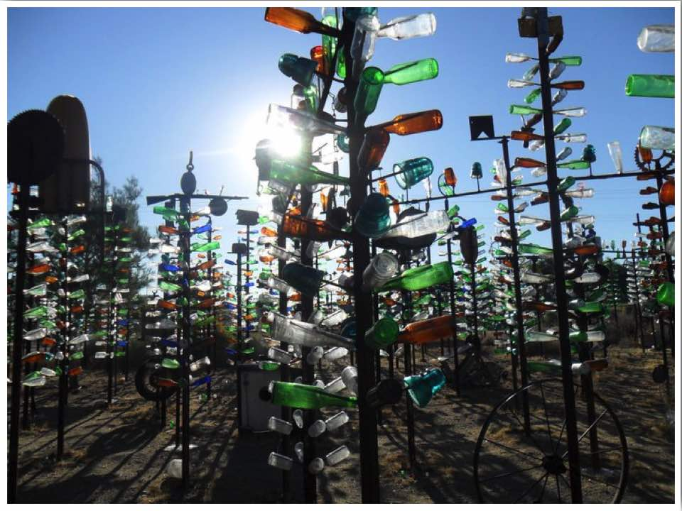 Bottle Tree Ranch Helendale California Route 66