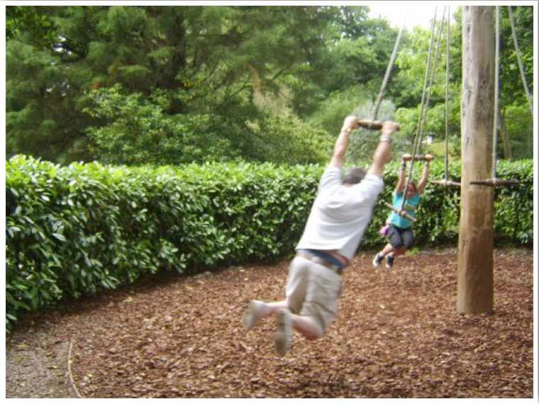 Cornwall Rope Swing