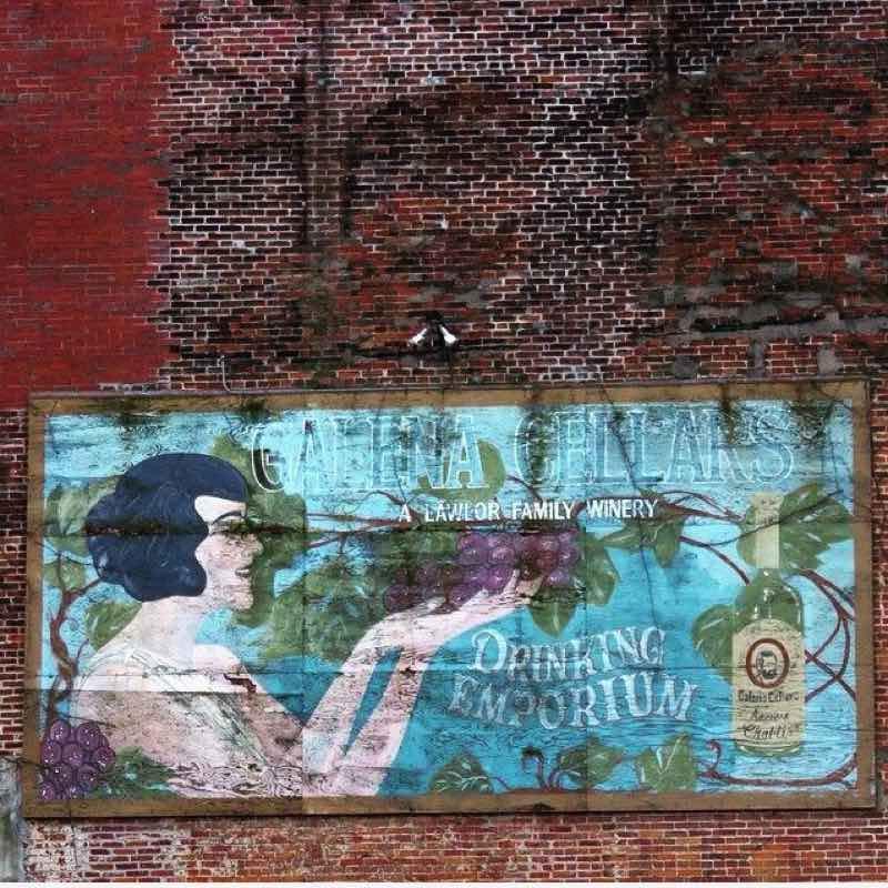 Galena IL Advertisement Billboard