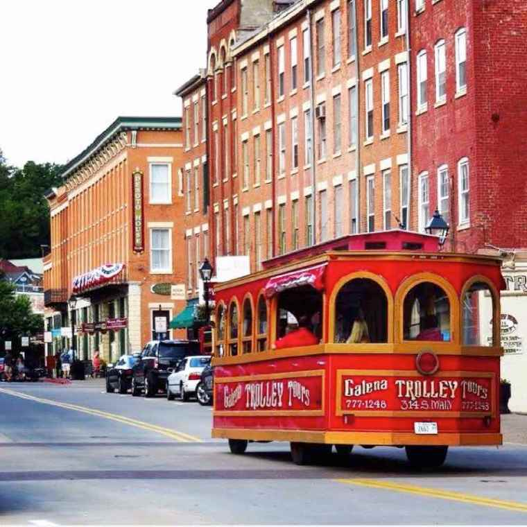 Galena IL Trolley Tours