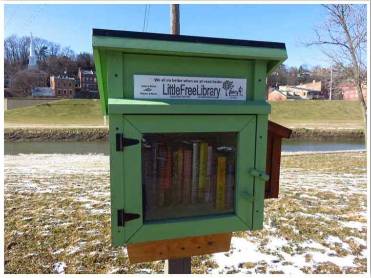 Little Free Library Galena Illinois