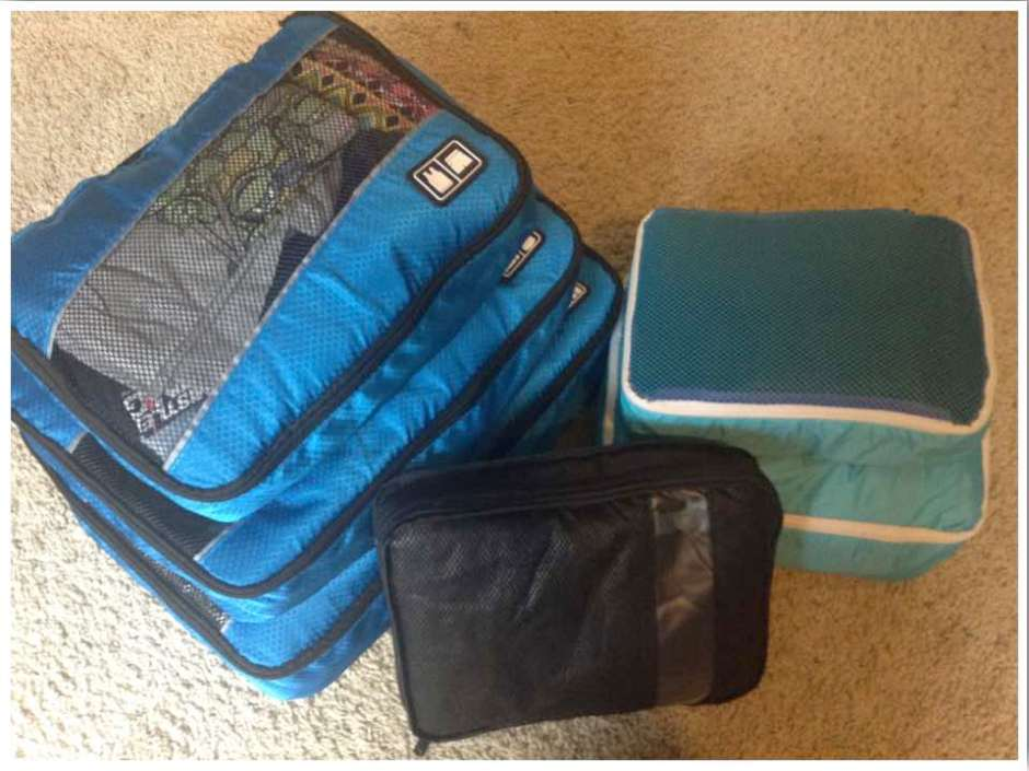 Packing Tips for Moving Overseas - Packing Cubes