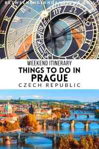 Weekend Itinerary Things to do in Prague